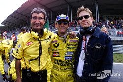 Eddie Jordan and Jarno Trulli
