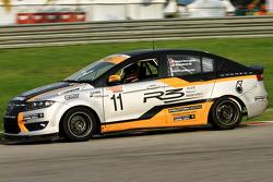 #11 Proton Preve: James Veerappan, Masedenial Ali - Proton R3 Racing Team