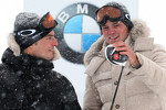 Ryder Cup champion Martin Kaymer and DTM champion Bruno Spengler compete in the BMW xDrive Mountain Challenge in Khtai, Austria
