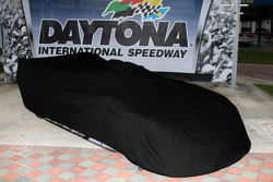 The unveiling of the Wayne Taylor Racing Corvette Dallara
