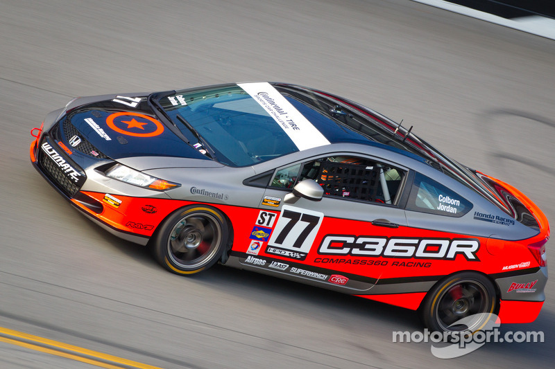 #77 Compass360 Racing Honda Civic SI: James Colborn, Andrew Jordan