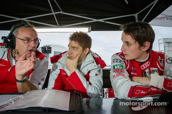 Edoardo Mortara and Oliver Jarvis