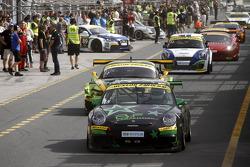 #45 B2F Competition Porsche 997 Cup: Benoit Fretin, Bruno Fretin, Pascal Colon, Laetitia Tortelier