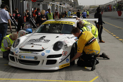 #43 Speedlover Porsche 997 Cup S: Philippe Richard, Philippe Marie, Jean-Michel Gerome