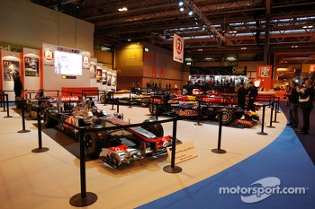 The F1 Racing display of 2012 F1 cars