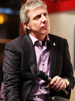 Jason Plato, on the Autosport Stage