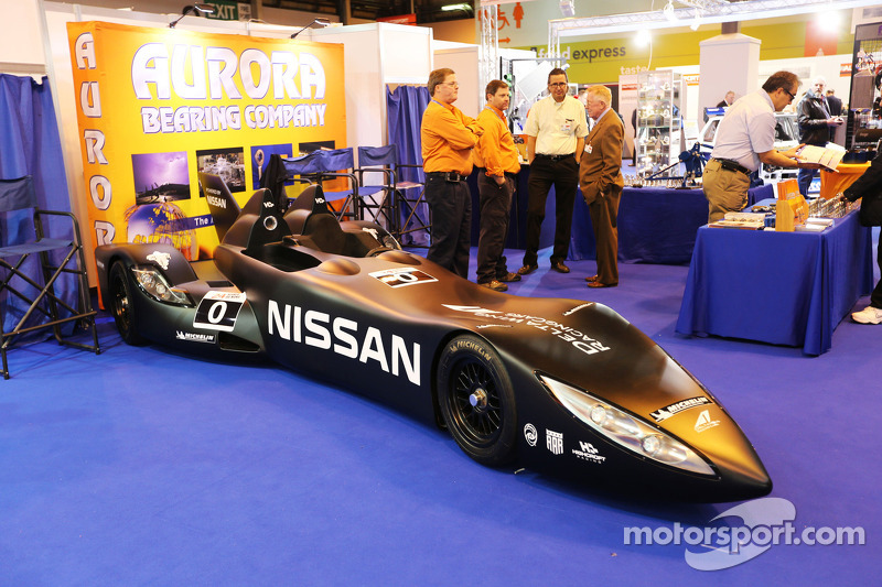 Nissan Deltawing at the Aurora Bearing Company stand