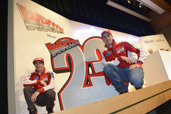Andrea Dovizioso and Nicky Hayden, Ducati Marlboro Team