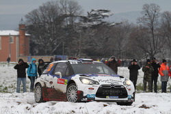Bryan Bouffier and Xavier Panseri, Citroen DS3 WRC