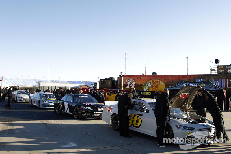 Cars are ready for Technical Control