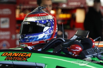 Helmet of Danica Patrick, Stewart-Haas Racing Chevrolet