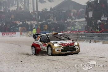 Daniel Sordo and Carlos del Barrio, Citroen DS3 WRC, Citron Total Abu Dhabi World Rally Team