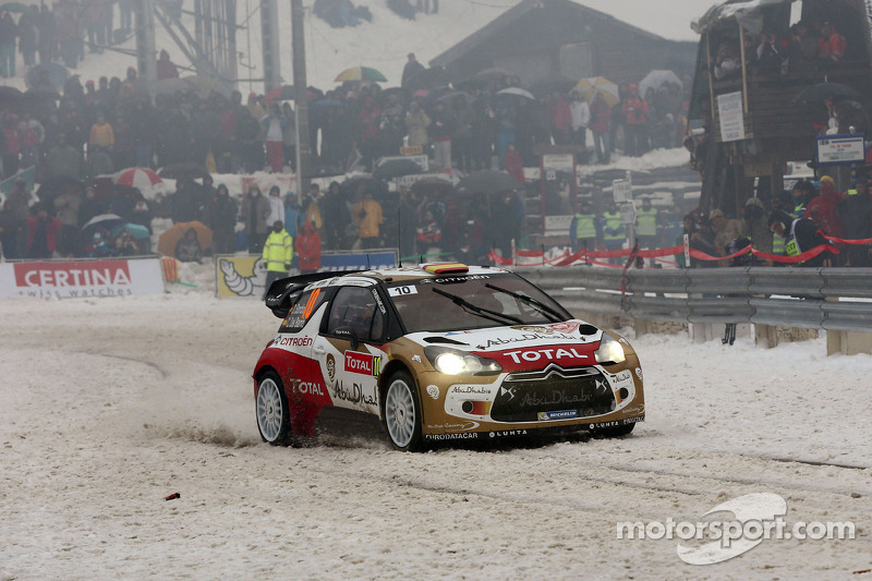 Daniel Sordo and Carlos del Barrio, Citroen DS3 WRC, Citroën Total Abu Dhabi World Rally Team