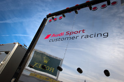 Audi Sport Customer Racing transporter