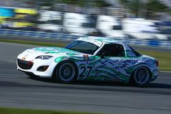 #27 Freedom Autosport Mazda MX-5: Rhett O'Doski, Derek Whitis