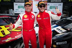 Trofeo Pirelli winner #24 Auto Gallery Ferrari 458: Carlos Kauffmann, Coppa Shell winner #85 Auto Gallery Ferrari 458: John Farano