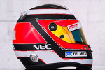 The helmet of Nico Hulkenberg, Sauber F1 Team