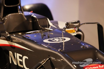 Sauber C32 cockpit
