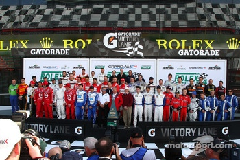 The legends of the Rolex 24 group photo
