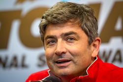 Press conference: Ferrari North America's Marco Mattiaci