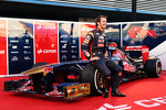Jean-Eric Vergne, Scuderia Toro Rosso with the new Scuderia Toro Rosso STR8