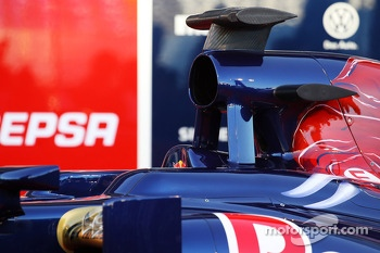 Scuderia Toro Rosso STR8 air box
