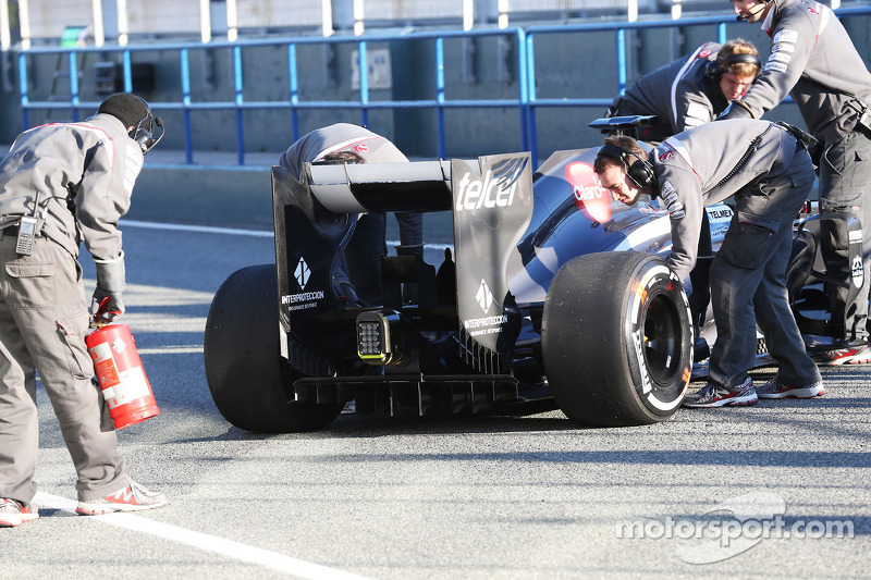Nico Hulkenberg, Sauber in the pits