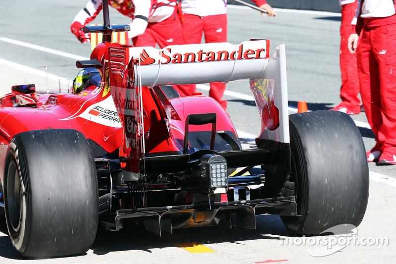 Felipe Massa, Ferrari F138 rear diffuser