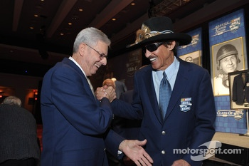Richard Petty and Leonard Wood