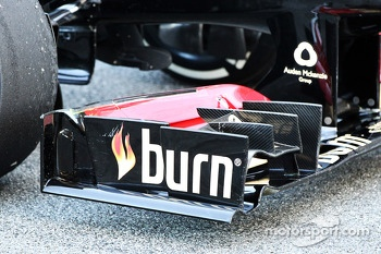 Lotus F1 E21 front wing detail