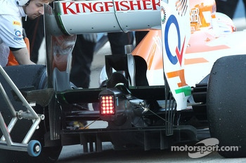 Sahara Force India F1 VJM06 rear diffuser