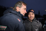 Carlos Sainz and Sbastien Loeb