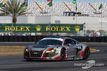 #52 Audi Sport Customer Racing/APR Motorsport Audi R8 Grand-Am: Frank Stippler, Marc Basseng, Ian Baas, Ren Rast