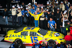 Victory lane: race winner John Wes Townley celebrates