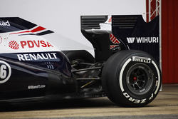 Williams FW35 rear wing