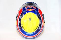 The helmet of Mark Webber, Red Bull Racing