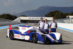 Sebastien Buemi, Anthony Davidson, Stphane Sarrazin with the Toyota TS030 Hybrid