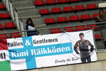 Banner for Kimi Raikkonen, Lotus F1 Team