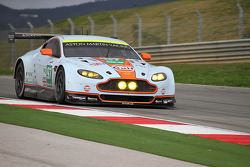 The Aston Martin GTE testing
