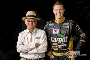 Trevor Bayne with Jack Roush