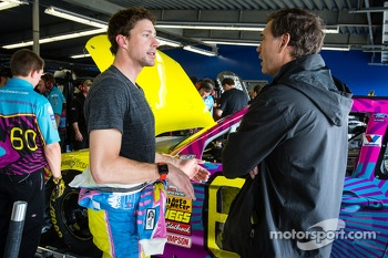 Travis Pastrana with Ray Evernham