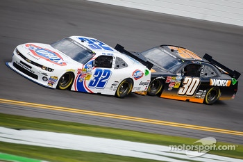 Kyle Larson and Nelson A. Piquet