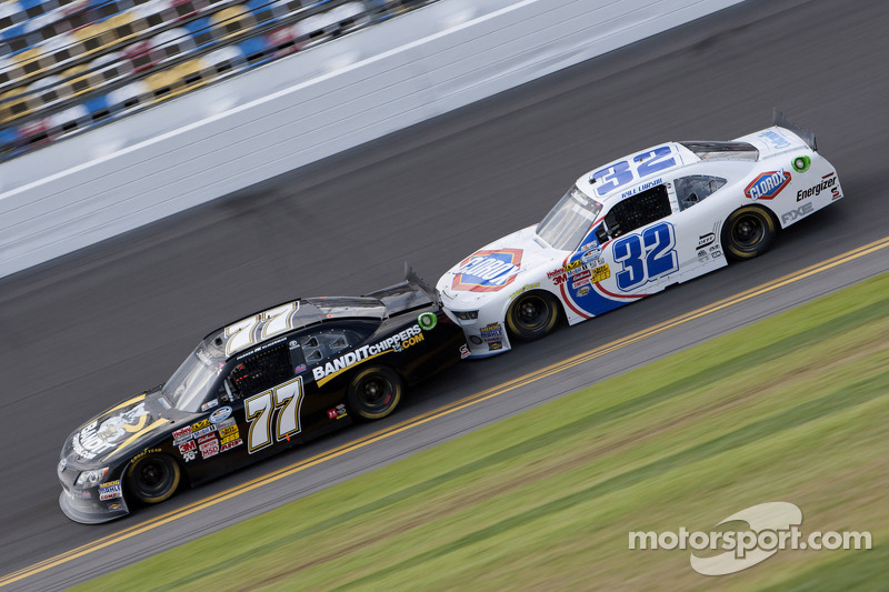 Parker Kligerman and Kyle Larson