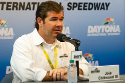 Press conference: Daytona International Speedway President Joie Chitwood
