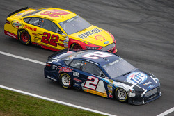 NASCAR-CUP: Brad Keselowski, Penske Racing Ford and Joey Logano, Penske Racing Ford