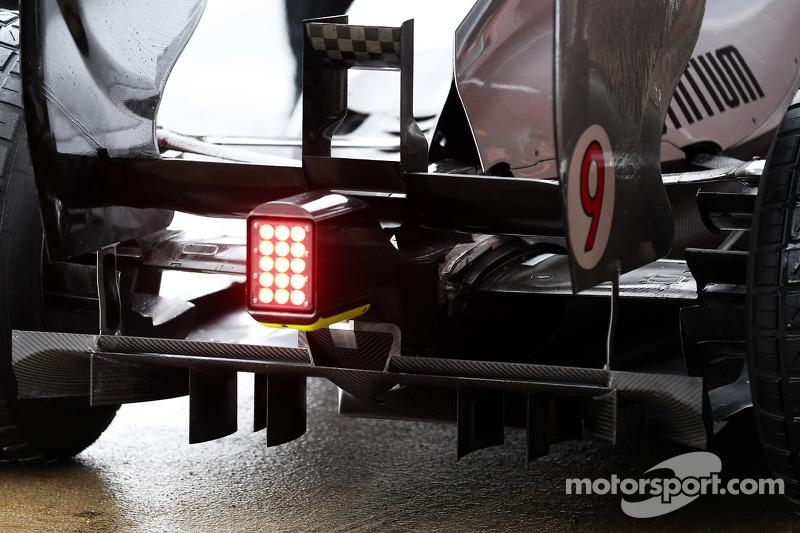Mercedes AMG F1 W04 rear diffuser