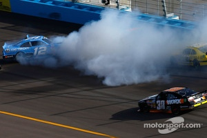 Trouble for Sam Hornish Jr.