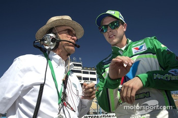 Jack Roush and Trevor Bayne