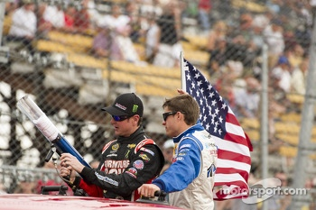 Kurt Busch and David Ragan