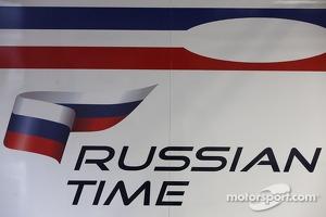 RUSSIAN TIME logo